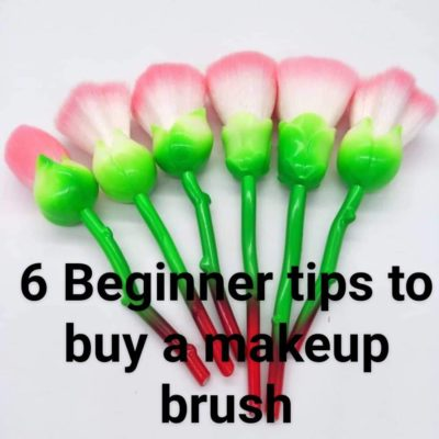 6 beginner tips to buy a makeup brush
