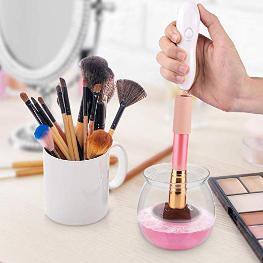 fae57f5eb9b8 best and smartest electric makeup brush cleaners 2019 - Makeup Analysis