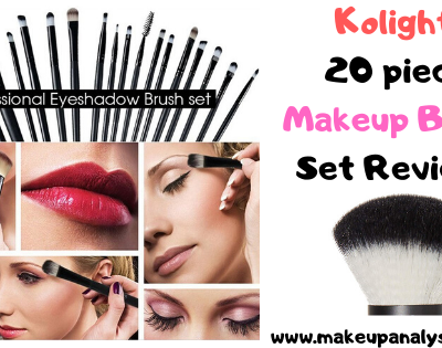Kolight 20 piece Makeup Brush Set Reviews