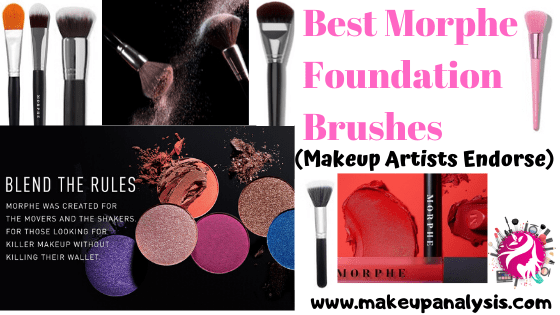 Best Morphe Foundation Brushes