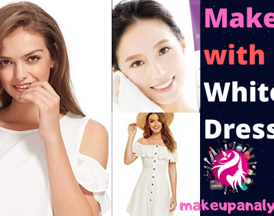 Makeup with White Dress