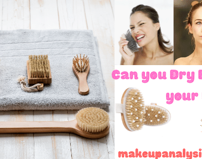 Can you Dry Brush your Face (how and how often)