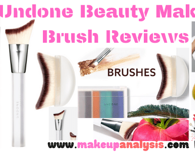 Undone Beauty Makeup Brush Reviews