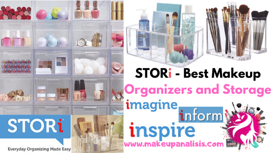STORi - Best Makeup Organizers and Storage