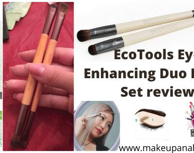 EcoTools Eye Enhancing Duo Brush Set review
