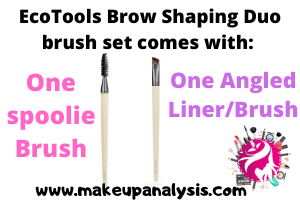 Ecotools Brow Shaping Duo Brush Set Review
