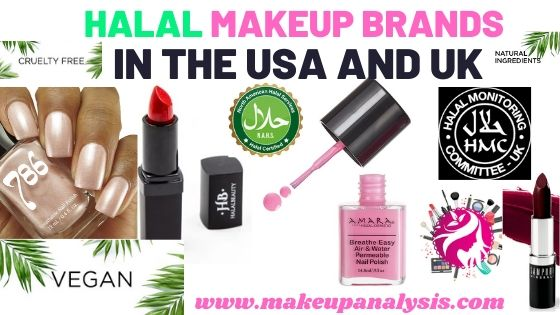 Halal Makeup Brands In The Usa And Uk