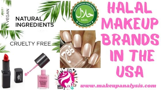 Halal makeup brands in the USA