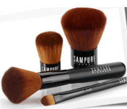 Makeup brushes from Sampure