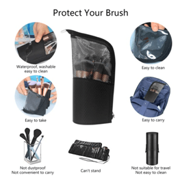 Best makeup brush cup holders and cylinder cases