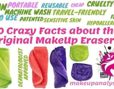 20 crazy facts about the original makeup eraser