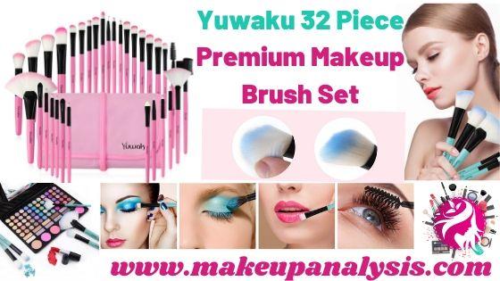 Yuwaku 32pcs Premium Brush set
