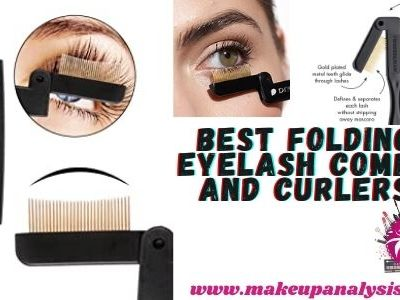 Best folding eyelash combs and curlers(#3 is mind-blowing)