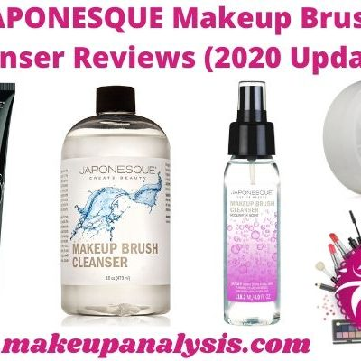 JAPONESQUE Makeup Brush Cleanser Reviews (2021 Updated)
