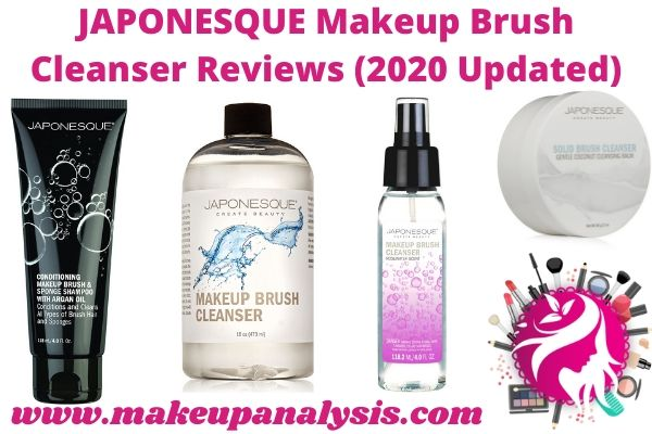 Japonesque makeup brush cleansers