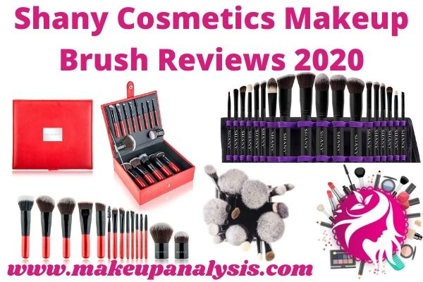 Shany Cosmetics makeup brush reviews