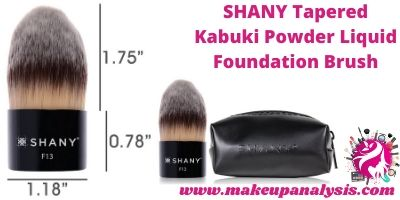 Shany taperted kabuki brush
