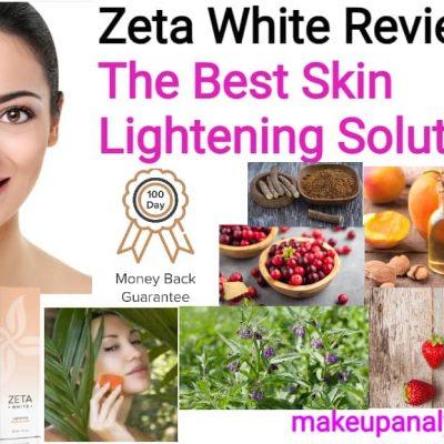 Zeta white reviews | The best skin lightening solution